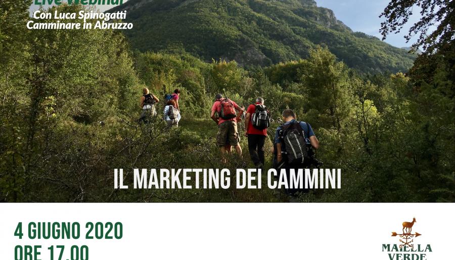 Live webinar: il marketing dei cammini